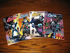 DC - LOBO Unamerican Gladiators 1 - 4 Complete Series!!  Glossy VF 1993
