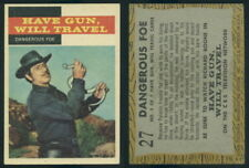 (54592) 1958 Topps TV Westerns 27 Dangerous Foe-EM