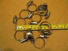 "10 Norma W2 Torro Stainless 16-28mm 5/8"" –1 3/16"" Embossed Hose Clamps Germany"