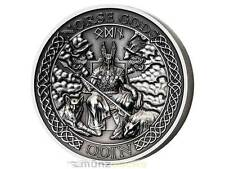 $10 Dollar Norse Gods Odin Ultra High Relief Cook Islands 2 oz Silver 2015