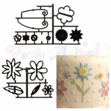 Patchwork Cutters & Embossors - FANTASY FLOWERS - Cake Decoration Cutters