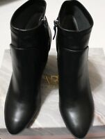$109 FRANCO SARTO FRANCIE BLACK SYNTHETIC ANKLE BOOT US 11M