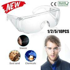 Lunettes de sécurité Lunettes Clear Vent Unisex Lab Work Eye Protection Anti Fog