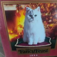 Collectible fancy Feast Happy Holidays 1999.