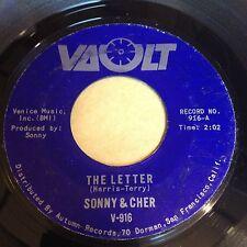 Sonny & Cher: The Letter / Spring Fever 45 - Vault 916