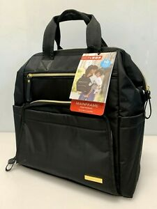 Skip Hop Diaper Bag Backpack Mainframe Large Capacity Wide Open Structure New