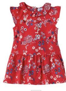 Petit Bateau Girls Liberty Print  Style Summer Floral Dress Age 3