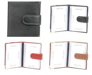 MCC6A LEATHER CREDIT CARD HOLDER BY GOLUNSKI