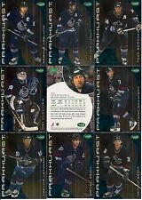 2001-02 Parkhurst by ITG Vancouver Canucks Regular Team Set (13)