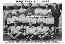 PORT VALE F.C.TEAM PRINT 1955 (WILLDIGG / LEAKE / KING / MULLARD)
