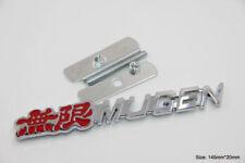 B212 Mugen Power 3D Kühlergrill vorn Emblem Badge car Sticker Frontgrill