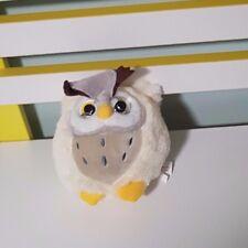 ADORATOYS OWL KEELTOYS PLUSH TOY SOFT TOY WHITE CREAM 11CM TALL!