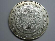 1975 DOMINICAN REPUBLIC 10 PESOS SILVER COIN