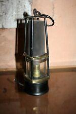 Ancienne  Lampe de Mineur Marmorat