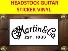 C F MARTIN C. O. BLACK STICKER VINYL GUITAR PRODUCT ON SALE UNTIL END OF STOCK