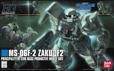 Bandai Hguc 1/144 Ms-06F-2 Zaku Ii F2 Zeon Plastic Model Kit Gundam 0083