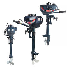 2 Stroke 3.5HP Heavy Duty Outboard Motor Boat Engine W/ Water Cooling System