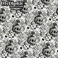 Hydrographics Film Hydro dipping LUCKY SKULL Pattern WATER transfer PrInT LL-490