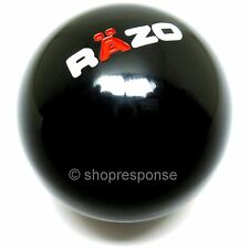 RAZO RA102 Resin Sports Shift Knob Black Round / Ball 46g Made in Japan JDM