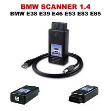 BMW INTERFACE SCANNER 1.4 OBD2 OBDII DIAGNOSTIC E38 E39 E46 E53 X5 E83 X3 E85 Z4