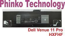 Dell HXFHF VJF0X VT26R Battery For Venue 11 Pro (7130) Tablet 7.4V 36Wh