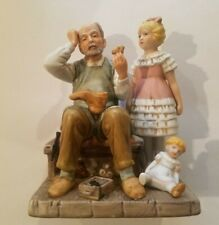 Norman rockwell figurine Shoemaker 1981 annual gorgeuos