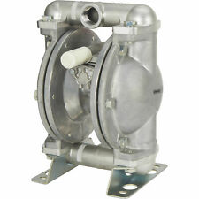 New Listingroughneck 58299 Air Operated Double Diaphragm Pump 1in Ports 37 Gpm