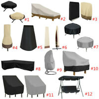 Waterproof Swing Seat Top Cover Outdoor BBQ Grill Furniture Anti Dust Protector