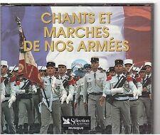 CHANTS ET MARCHES DE NOS ARMEES CD ALBUM reader's digest 5cd 103 titres