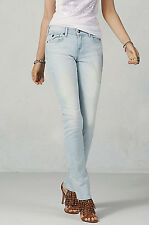 True Religion Jeans Women's Cora Straight Sunny nook Wash Blue Denim New Sz 24