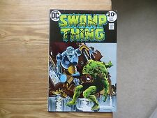 1973 DC SWAMP THING # 6 SIGNED BY CREATOR & ARTIST BERNI WRIGHTSON, WITH POA