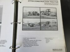 Ingersoll-Rand Ct724 Construction Tractor Literature