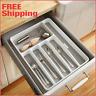 Drawer Organizer Cutlery Tray Flatware Utensil Silverware Storage Kitchen Large