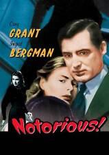 NOTORIOUS Movie POSTER 27x40 UK E Cary Grant Ingrid Bergman Claude Rains Louis