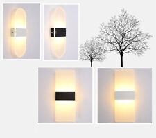 LED Wall Light Up Down Cube Indoor Outdoor Room Sconce Decor Lamp Bedroom Hotel