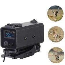 Mini Laser Hunting Range Finder Tactical Rifle Scope Distance Speed Meter 700M