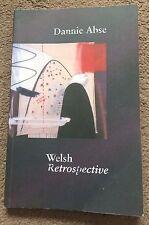Welsh Retrospective - Dannie Abse ISBN 9781854114860