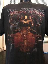 VTG Slayer Evil Tour Shirt Sz XL Suicidal Venom Rock Metal Priest Metallica Ozzy