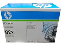 HP C4182X (82X) Black High Capacity Toner Cartridge Damaged Open Box OEM