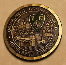 Gen B B Bell Component Command Land Heidelberg Germany Army Challenge Coin