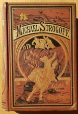 Michael Strogoff The Courier of the Czar by Jules Verne - 1st American - 1877