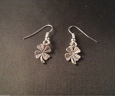 Tibetan Silver Costume Earrings without Stone