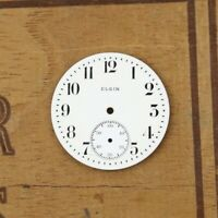 Elgin Pocket Watch antique Open Face or Hunter Movement Parts old Estate dial 3