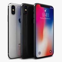Apple iPhone X / XR 64GB 256GB  SIM Free Smartphone unlock mix GRADE
