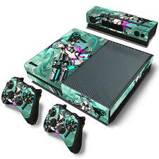 Miku Hatsune Vocaloid Anime Motiv Microsoft Xbox One Skin Aufkleber Schutzfolie