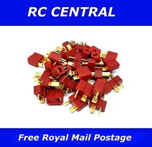 RC Deans Connector T Connectors ESC Lipo Battery Pairs/Male/Female