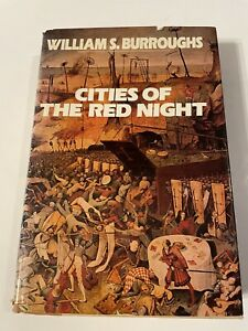 Cities of the Red Night by William S. Burroughs (1981, Hardcover)