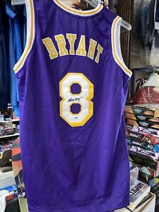 Kobe Bryant Signed Los Angeles Lakers Jersey PSA Authentication