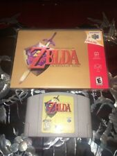 Legend of Zelda: Ocarina of Time Nintendo 64, 1998 Cleaned, Tested, and Working