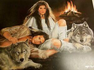 """Maija """" Companions """" #70/350  MINT Rare Premier Edition  w/ COA $1400 VALUE"""